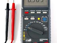 Multimeter: Cara kerja, Jenis, Cara Menggunakan
