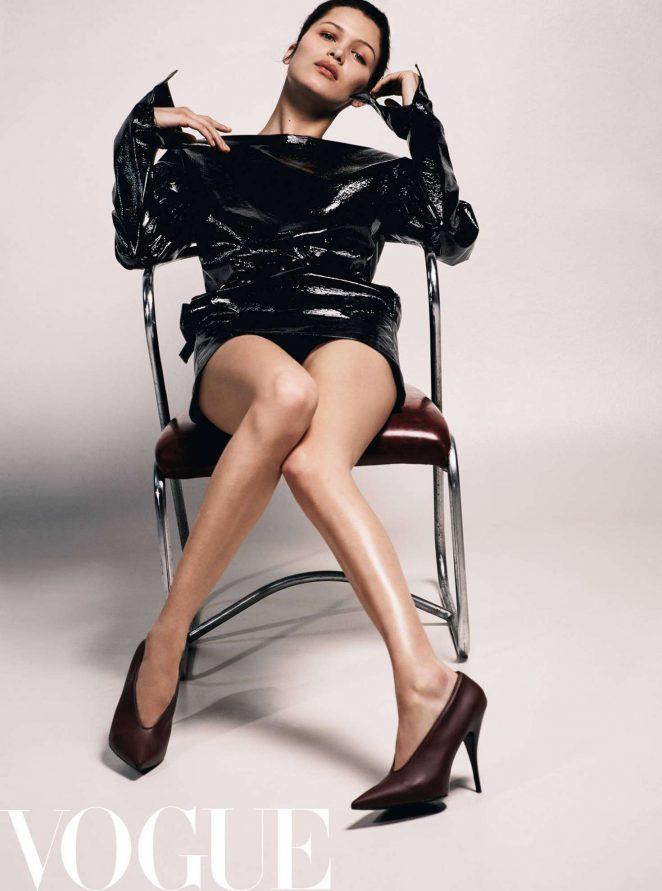 Bella Hadid Vogue China Hot Photoshoot