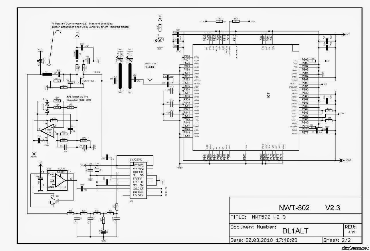 Linear Inductance Meter Circuit Schematic