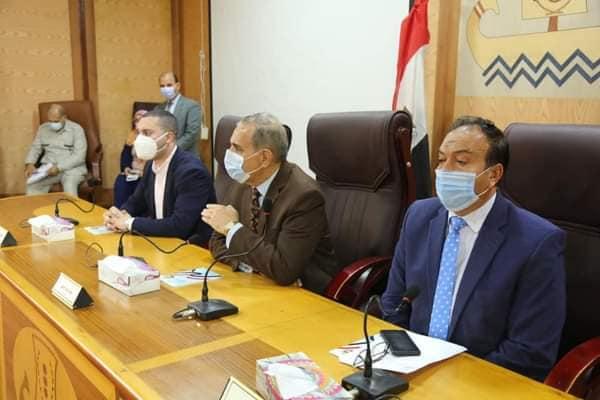 محافظ كفر الشيخ يوجه بسرعة إنجاز ملفات التصالح / الأهرام نيوز