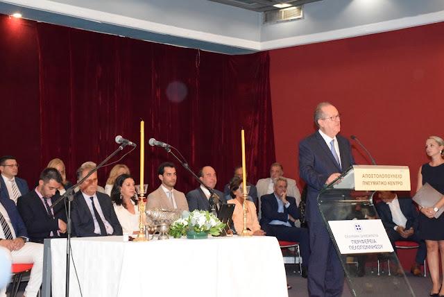 Τι είπε στη ομιλία ορκωμοσίας του ο νέος Περιφερειάρχης Πελοποννήσου Παναγιώτης Νίκας