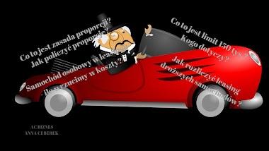 Rozliczenie rat leasingu/najmu samochodu osobowego