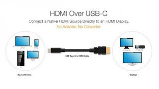 USB من نوع C بمواصفات HDMI قريباً