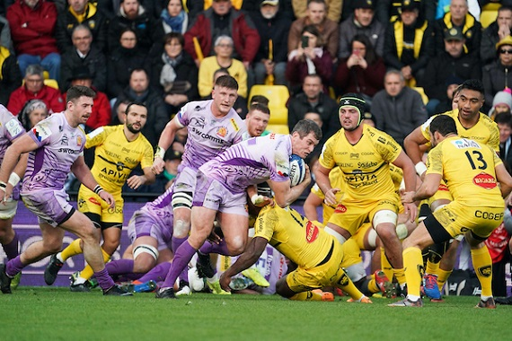 Ian WHITTEN of Exeter during the European Rugby Champions Cup, Pool 2 match between La Rochelle and Exeter Chiefs