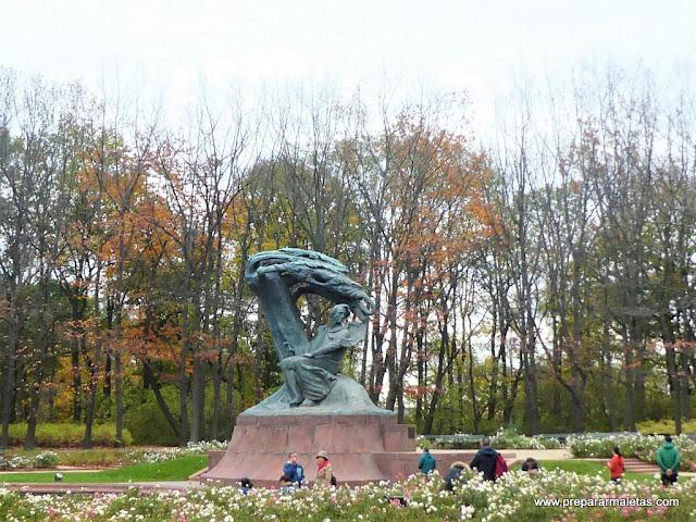 ruta musical en Varsovia, siguiendo los pasos de Chopin