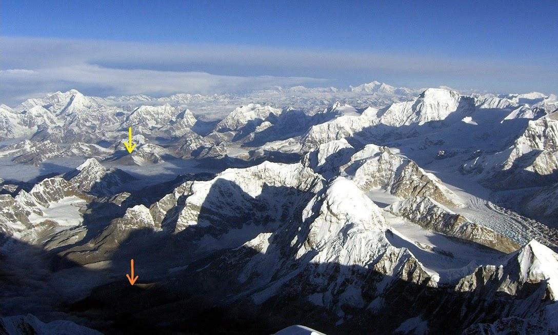 вид с Эвереста