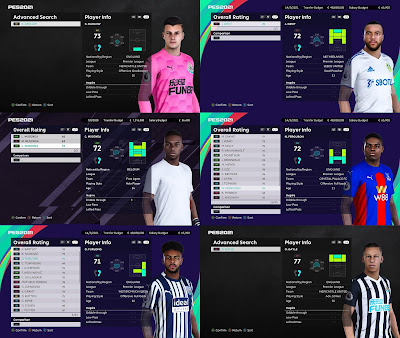 PES 2021 Premier League Facepack