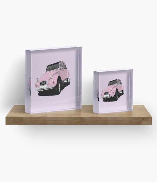 Citroën 2CV home decor - classic car