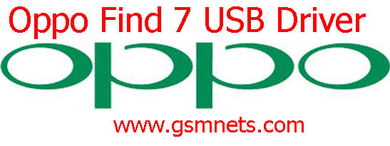 Oppo Find 7 USB Driver Download