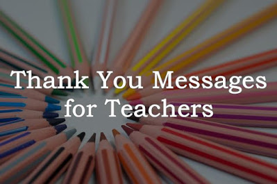 Image of Thank You Messages for Teachers with pencils.