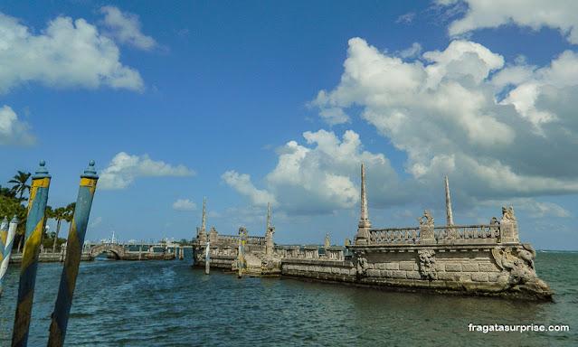 The Barge, Villa Vizcaya, Miami