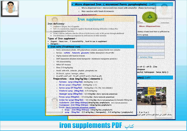 كتاب iron supplements PDF