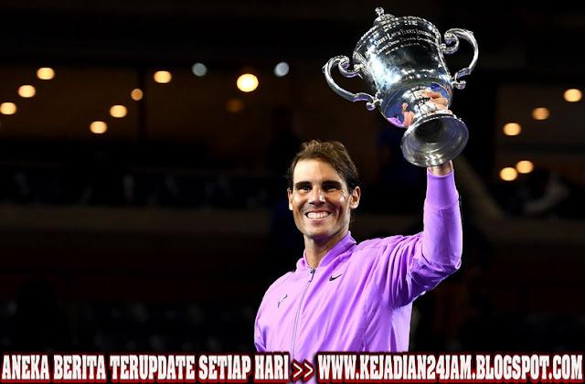 Rafael Nadal Bungkan Medvedev Dan Jadi Juara AS Terbuka 2019