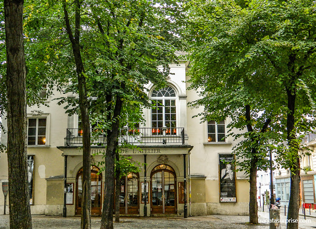 Theatre de L'Atelier, Montmartre, Paris