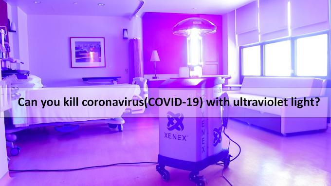 ¿Puedes matar el coronavirus (COVID-19) con luz ultravioleta?