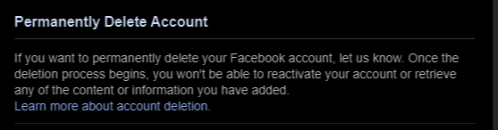 Simple Way to Delete Your Facebook Account In 2021