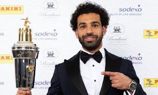 Mohamed Salah Pemain Terbaik Liga Inggris 2017-2018