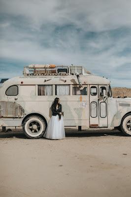 Autobus vintage para boda