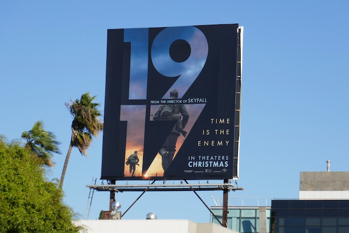 1917 film billboard