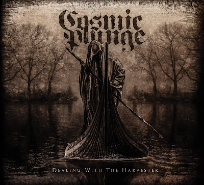 Cosmic Plunge - Dealing With The Harvester (review on downtuned magazine)