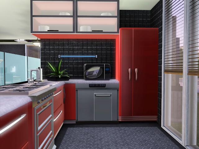 cuisine moderne sims 3 sans cc