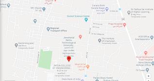 Jawaharlal Nehru Technological University JNTUA Ananthapur District Fees Format