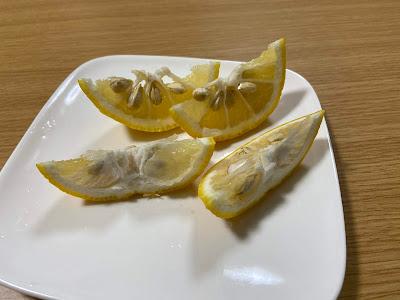 ゆずの中身(果肉)を食べないのはなぜ?3
