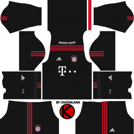 fc bayern munich 20172018 dream league soccer kits