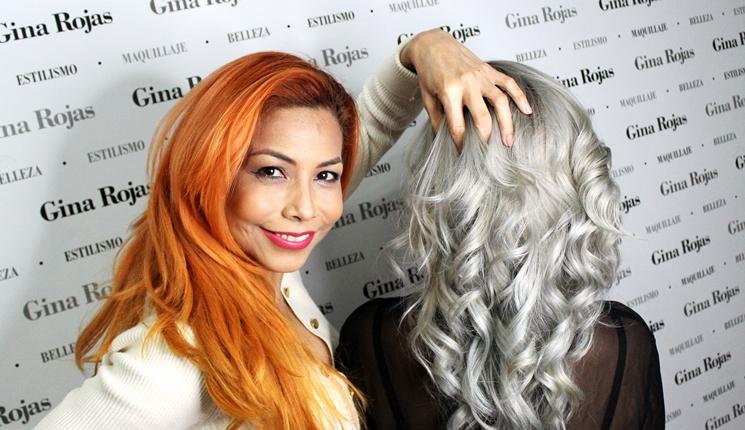 Cabello gris paso a paso por Gina Rojas