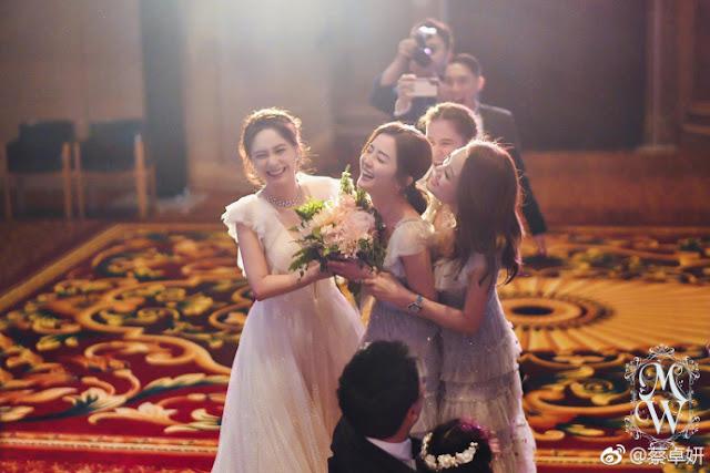Gillian Chung bridesmaids Charlene Choi Joey Yung