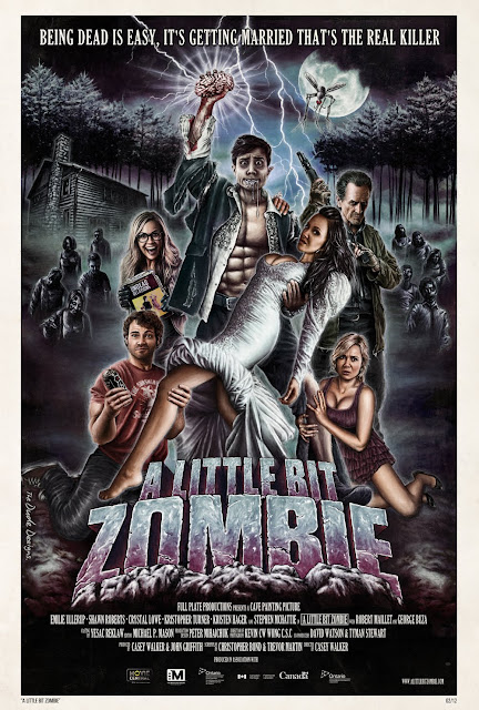 A Little Bit Zombie new poster by The Dude Designs