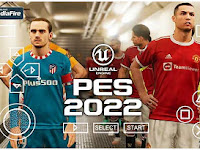 PES 2022 PPSSPP Grass Best HD Graphics Camera PS5 & New Kits And Transfer Update