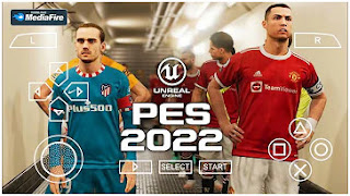 Download PES 2022 PPSSPP Grass Best HD Graphics Camera PS5 & New Kits And Transfer Update