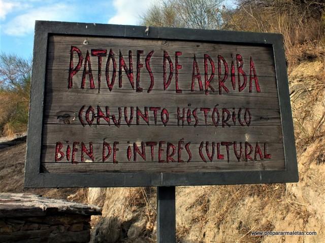 visitar conjunto histórico Patones de Arriba