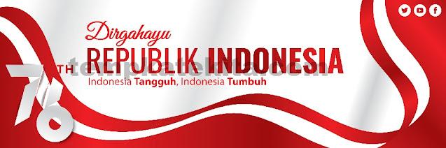 Spanduk HUT RI 76 : Banner 17 Agustus 2021 Coreldraw