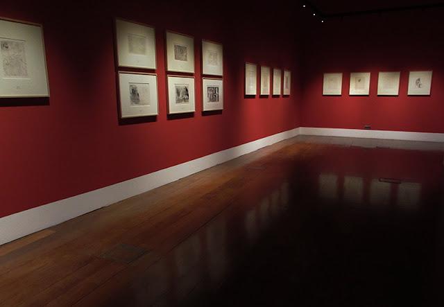 sala da exposição Suite Vollard