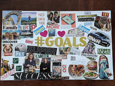 vision board for teenagers