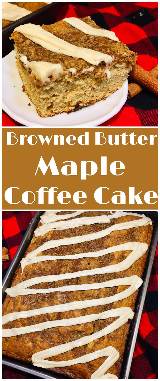 Browned Butter Maple Coffee Cake