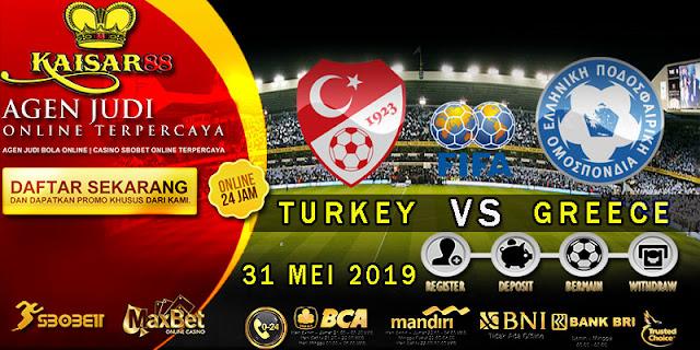 Prediksi Bola Terpercaya Laga Friendlies Turki vs Yunani 31 Mei 2019