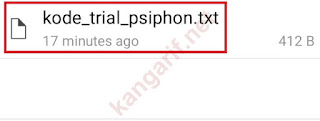 kode trial psiphon pro