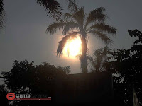 Foto Momen-momen Nobar Gerhana Matahari di Kudus