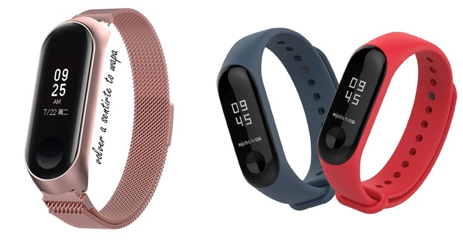Dispositivo de Ejercicio Xiaomi Band 3 de Amazon