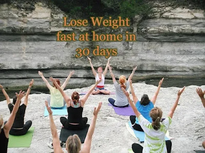 lose weight fast at home in 30 days