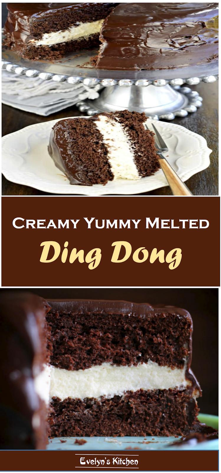 #Chocolatecake #Dingdongcake #Erminfrosting #Desserts