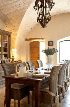 provence dining room | Roses and Rust: Provence Home