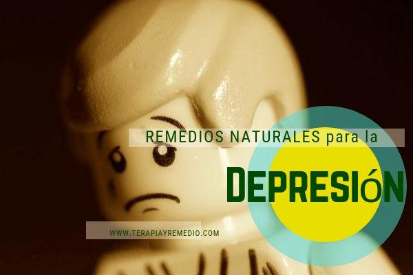 Remedios naturales para superar la depresión y la angustia