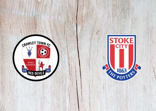 Crawley Town vs Stoke City -Highlights 24 September 2019