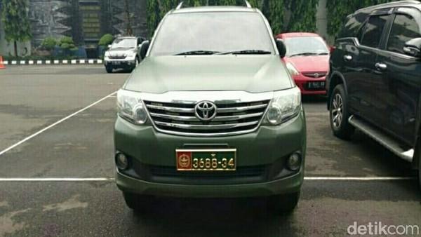 Puspomad Ungkap Sosok Ahon, Sipil yang Pakai Mobil Dinas TNI