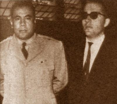 Rafael Saborido Carré con el Subsecretario de Defensa de El Salvador