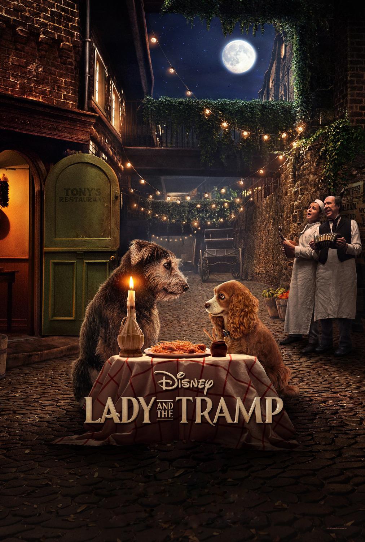 Lady and the Tramp [2019] [CUSTOM HD] [DVDR] [NTSC] [Latino]
